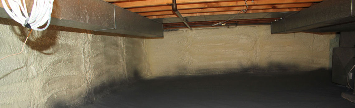 crawl space insulation in Oklahoma